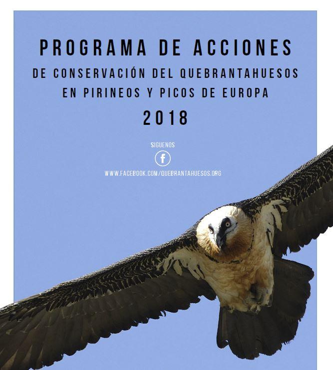 Programa de acciones de conservación del Quebrantahuesos